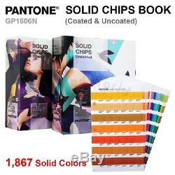 Pantone Color Plus Series GP1606N SOLID GUIDE CHIPS Book (Coated & Uncoated)