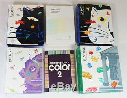 Pantone Color Specifier PMS Swatch Books