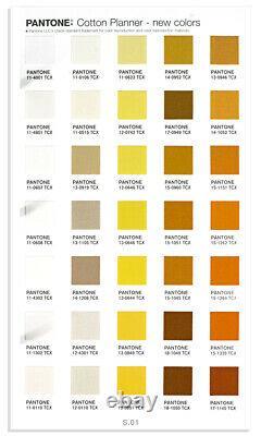 Pantone FHIC300 Cotton Planner Color Guides Fashion + Home 2310 Colors