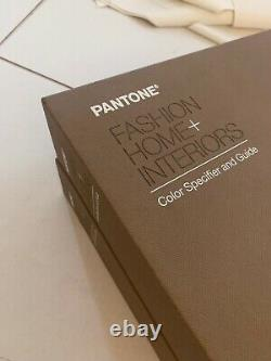 Pantone Fashion Home & Interiors Color Matching System Swatch Books