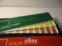Pantone Guide Kit Case 6 Color Bridge Formula Coated Uncoated Matte
