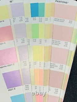 Pantone Plus Pastels and Neons Color Guide GG1304 Book