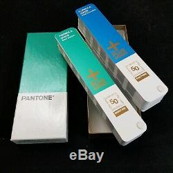 Pantone Plus Series SolidCoated/Uncoated Formula Guides Box Set Excellent Condtn