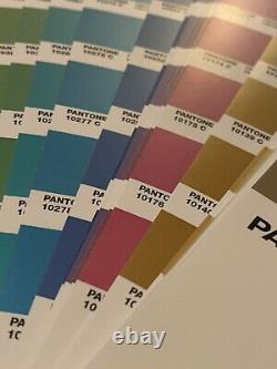 Pantone Premium Metallic Coated Color Guide Book