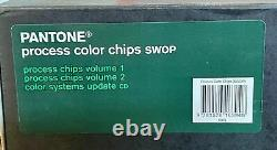 Pantone Process Chips Coated Two Book Set + CD