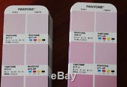 Pantone RGB CMYK HTML Color Bridge Set Coated & Uncoated 1677 Colors GP4102