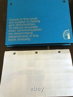 Pantone Solid Chips Matte Binder Book New Sealed Matching Color System