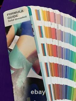 Pantone Uncoated Solid Color Guide Book