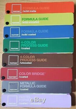 Pantone color guide set of 8 in carrying case proceeds help homeless veterans