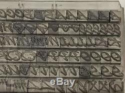 Pepita 24 pt Metal Type Printers Type Letterpress Type