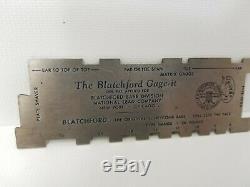 Pirinting Letterpress Type Sizing Tool Blatchford Gage-It Vintage & Original