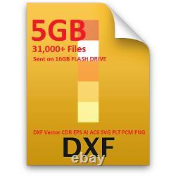 PlasmaCam Dynatorch CNC PLASMA, CNC Router CNC LASER Files 5gb of files