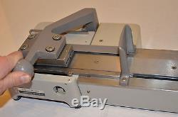 Rare Vintage Pitney Bowes Address Label Printer Printing Press Machine Model 701