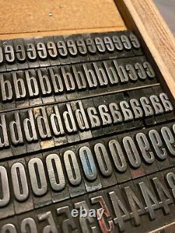 Relisted! Letterpress Type 48pt Staple Gothic from the Keystone Type Foundry