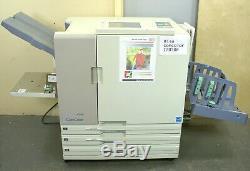 Riso Comcolor 7050R Color Inkjet Printer -Runs Great Just 877K Clicks