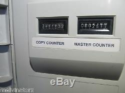 Riso Risograph RP3700 RP 3700 Digital Duplicator 11x17 drum For Parts/REPAIR