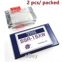 Roland Linear Bearing Guide Rail Block SSR15XW1UU For FJ540 VP540/ XJ640 SJ740
