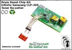 Samsung Infinite Toner Chip Resetter CLP-300 300N CLX 2161 K CLX 3160 FN