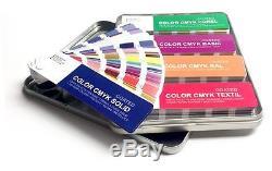 Set Color Cmyk Uncoated Pantone / Textil / Ral / Basic / Corel