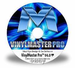 Sign Design Vinyl Cutting Plotting Software VinylMaster Pro 2017 Professional Ed