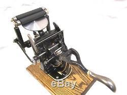 Sigwalt # 11 Letterpress Printing Platen Press Embossing Ready To Go Kelsey C&p
