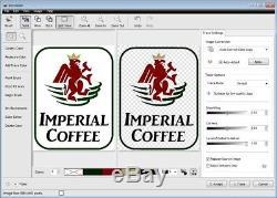 Software Sign Making Program Wide Format Cutters Printer Clipart VinylMaster PRO