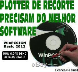 Software em Portuguese pra plotter de recorte REDSAIL, FOISON, SEIKI e mais