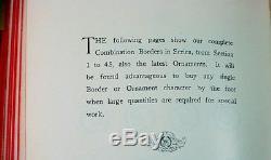 Specimen Book of Type. Keystone Type Foundry. Phila. 1899