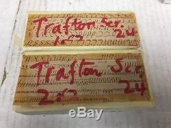 Trafton Script 24 pt Metal Type Printers Type Letterpress Type
