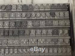 Tuscan Graile 18 pt Metal Type Printers Type Letterpress Type