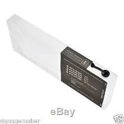 USA 7pcs 220ml Ink Refill Cartridge for EPSON Stylus Pro 7600 / 9600 + 4 Funnel
