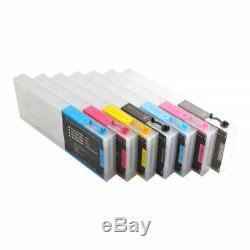 USA Combo E pson Stylus Pro 7600 / 9600 Refill Ink Cartridges 7pcs / set Kit