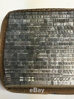 Ultra Bodoni 14 pt Letterpress Type Printer's Metal Lead Printing Sorts Rare