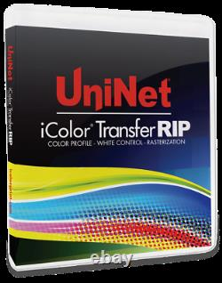 UniNet iColor Transfer Rip Dongle and Software for T-Shirts And Personalization