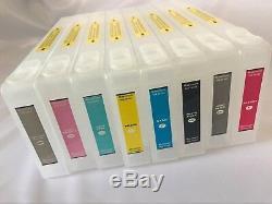 Upgraded Refillable Ink Cartridges For Epson Stylus Pro 7800 9800 Inkjet Printer