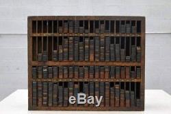 Vintage Letterpress Furniture Reglet Case Hamilton Manufacturing
