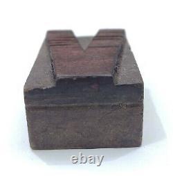 Vintage Letterpress wood/wooden printing type block typography 124pc 1.96 #TP36
