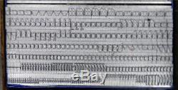 Vintage Metal Letterpress Print Type 24pt Baskerville ML04 7#
