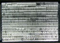 Vintage Metal Letterpress Print Type ATF 18pt Baskerville Italic MM42 7#