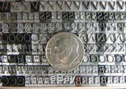 Vintage Metal Letterpress Printing Type 14pt Kennerly Italic B83 9#