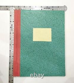 Vintage Specimen Book Of India Type foundry Hindi, English etc, Hard Bound Bk-2
