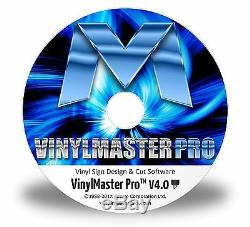 VinylMaster Pro for Vinyl Sign Sticker Cutter with Contour Cut ARMS Function