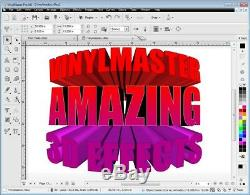 VinylMaster Professional PRO Sign & Sign maker Shop Software NO DISCS