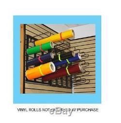 Vinyl Wall Mount Rack, Digital Media, Printing, Pre-mask Storage Rack