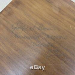 Vtg 1979 Wood Block Ink Stamps Hand Carved Paper Textile Printing Block Signed