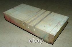 Wood LETTERPRESS Print Type Block CAPs ALPHABET 5 Tall (Only Missing Letter K)