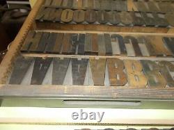 Wood Type 15 Line CONDENSED POSTER GOTHIC MADE BY HAMILTON GREAT FONT
