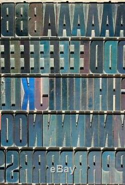 Wood type letterpress