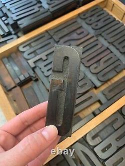 Wood type letterpress'Aurora' 3.75