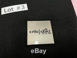 X-RITE EXACT HANDHELD SPECTROPHOTOMETER NGH-XRX20 Standard Pantone NO BlueToo L3